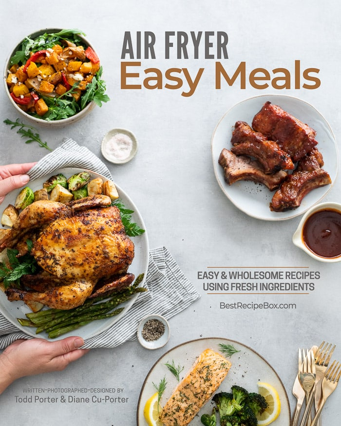 air fryer easy meals cookbook cover