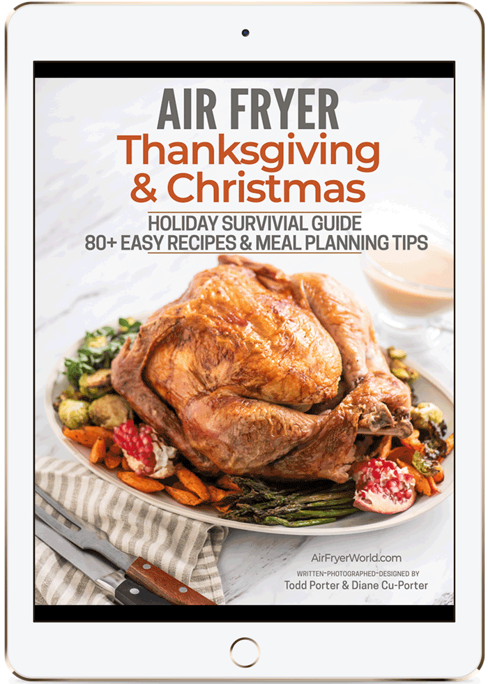 iPad with Air Fryer Holiday ebook