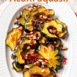 Air Fried Acorn Squash Recipe BestRecipeBox.com