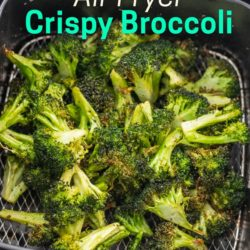 Easy Air Fried Broccoli Recipe in the Air Fryer | AirFryerWorld.com