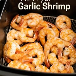 Air Fried Garlic Shrimp Recipe in Air Fryer | AirFryerWorld.com