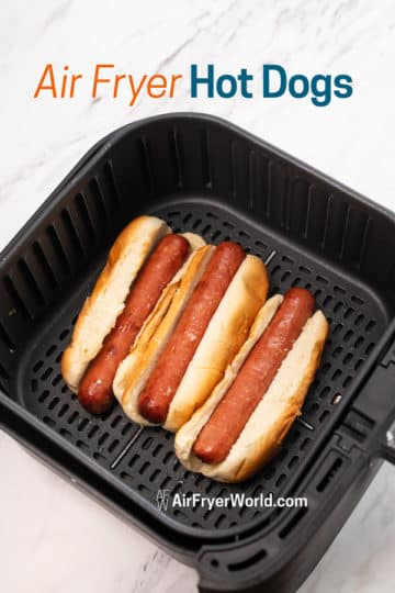 hot dogs in basket