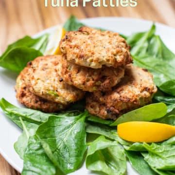 Air Fried Tuna Patties Recipe in Air Fryer | AirFryerWorld.com
