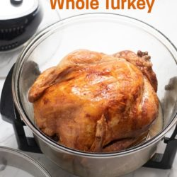 Air Fried Whole Turkey In Oil Less Air Fryer for Thanksgiving | AirFryerWorld.com