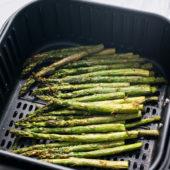 Air Fryer Asparagus   @bestrecipebox