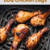 Air Fried Chicken Drumsticks with BBQ Sauce