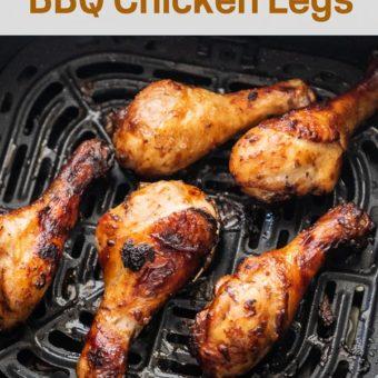 Easy Air Fried Chicken Drumsticks in the Air Fryer | AirFryerWorld.com