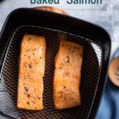 Healthy Air Fried Salmon Recipe in Air Fryer | AirFryerWorld.com