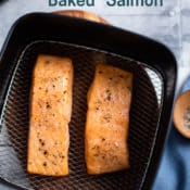 Healthy Air Fried Salmon Recipe in Air Fryer | AirFryerWorld.com