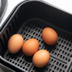 Easy Air Fried Boiled Eggs Recipe in Air Fryer | AirFryerWorld.com