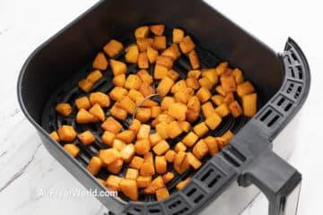 Air Fryer Butternut Squash AirFryerWorld.com