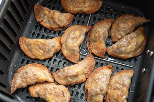 Air Fried dumplings