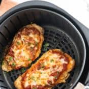 Air Fried Chicken Parmesan Recipe in air Fryer | AirFryerWorld.com