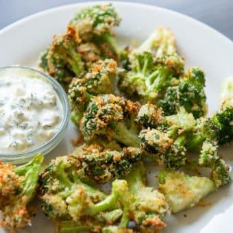 Air Fryer Broccoli Bites Recipe CRISPY! | AirFryerworld.com