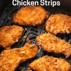 Air Fryer Doritos Crusted Chicken Strips or Tenders | AirFryerWorld.com