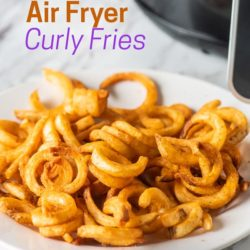 Air Fryer Frozen Curly Fries in Air Fryer | AirFryerWorld.com