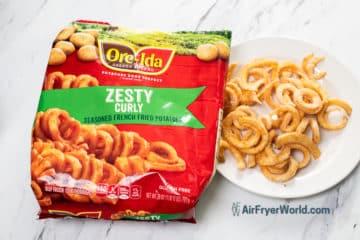 bag of ore-ida curly fries