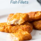 Air Fryer Frozen Fish Fillets