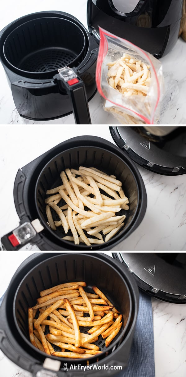 Air Fried French Fries step by step photos