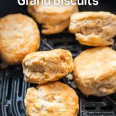 Air Fryer Frozen Grand Biscuits that's Air Fried | AirFryerWorld.com