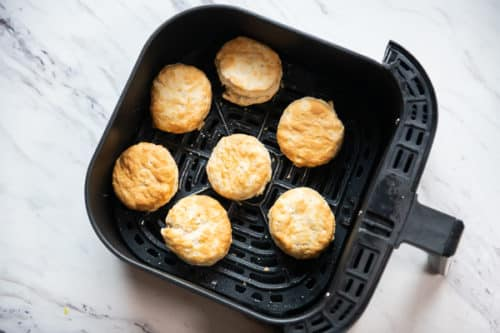 Air Fried Frozen Biscuits