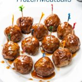 Air Fryer Frozen Meatballs | AirFryerWorld.com