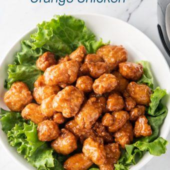 Air Fryer Frozen Orange Chicken Recipe | AirFryerWorld.com