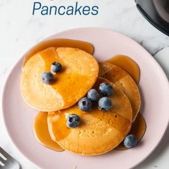 Air Fryer Frozen Pancakes or Hot Cakes in the Air Fryer | AirFryerWorld.com