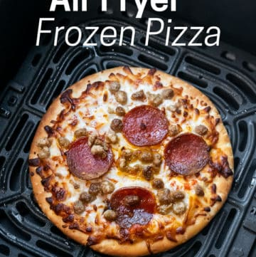Air Fried Frozen Pizza Recipe in Air Fryer | AirFryerWorld.com