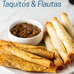 Air Fryer Frozen Taquitos or Flautas in Air Fried | AirFryerWorld.com