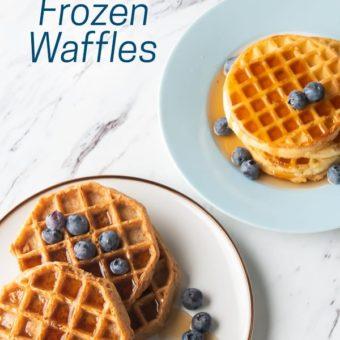 Air Fryer Frozen Waffles Recipe | AirFryerWorld.com