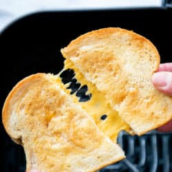 How to Cook Air Fried Grilled Cheese Recipe in Air Fryer | AirFryerWorld.com