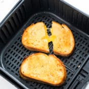 How to Cook Air Fried Grilled Cheese Recipe in Air Fryer   AirFryerWorld.com