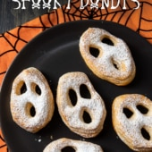 Air Fryer Halloween & Spooky Donuts