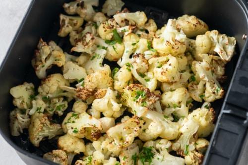 Finished Cauliflower