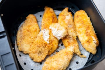 Air Fry fish fillets