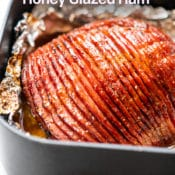Air Fryer Honey Glazed Ham Recipe   AirFryerWorld.com