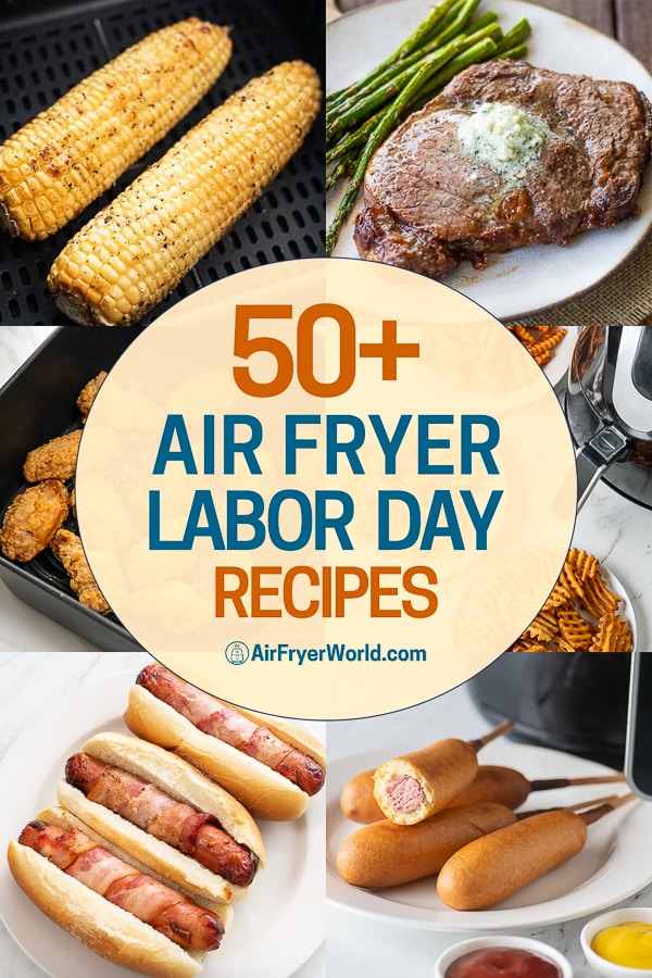 Air Fryer Labor Day Recipes step by step photos