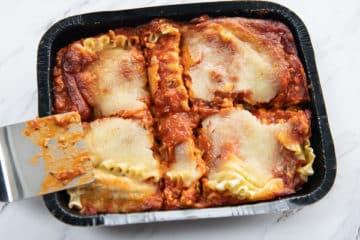 Portion Lasagna
