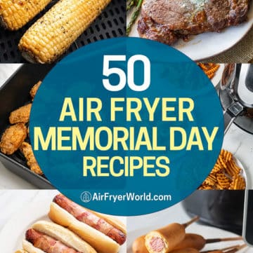 corn on the cob and other air fryer recipes for Memorial Day or Summer
