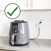 air fryer safety tips for safe air frying