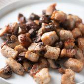 Air Fryer Pork Bites Recipe that's Air Fried | AirFryerWorld.com