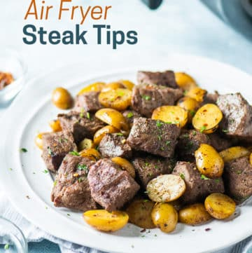 Best Air Fried Steak Tips Recipe in Air Fryer | AirFryerWorld.com