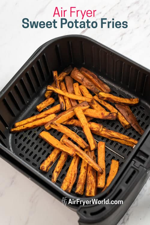Fries in a basket