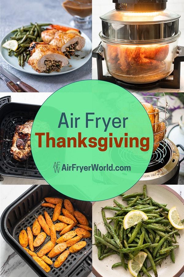 Air Fryer Thanksgiving Recipes | AirFryerWorld