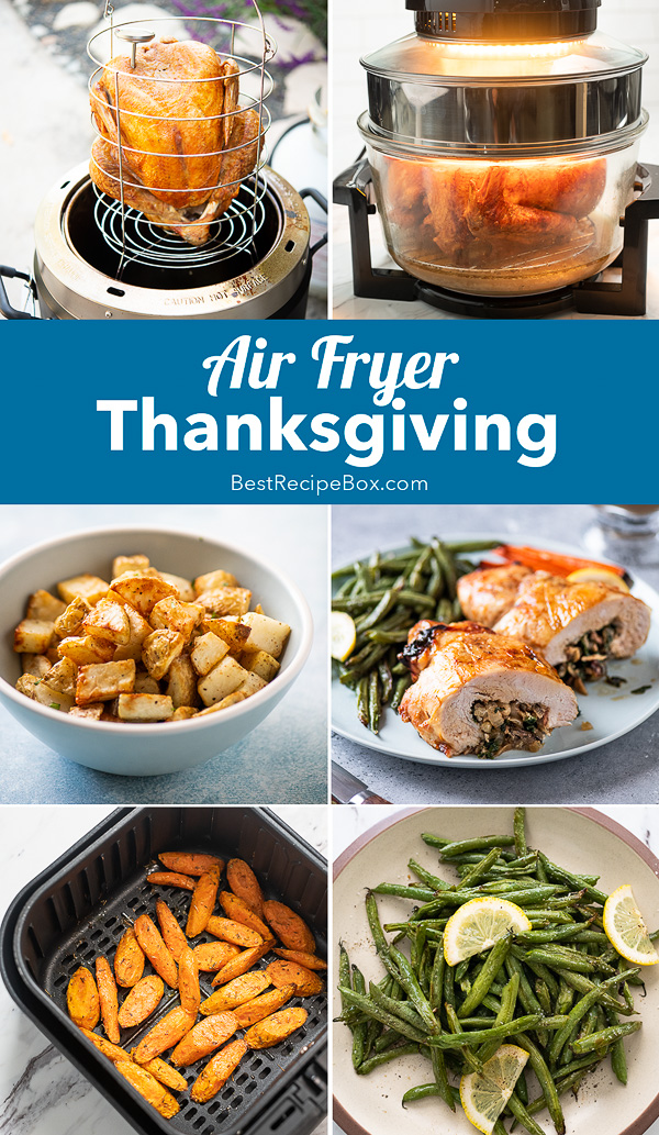 Air Fried Thanksgiving Recipes in Air Fryer that's Healthy step by step photos