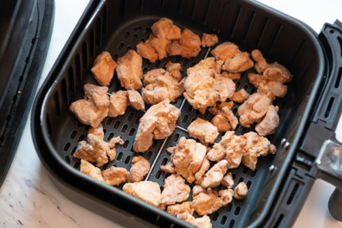 Frozen chicken in air fryer