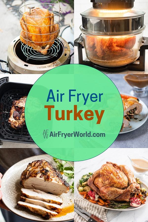 Air Fryer Turkey Recipes | AirFryerWorld