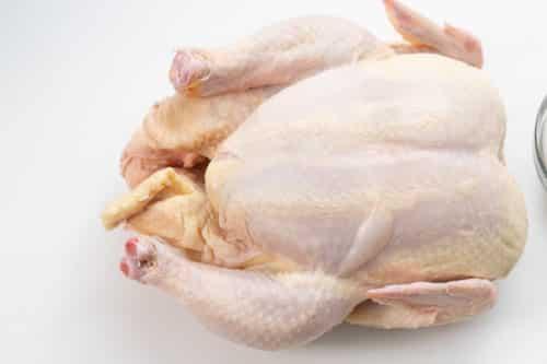 Pat dry chicken