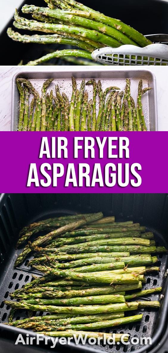 Air Fryer Asparagus   AirFryerWorld